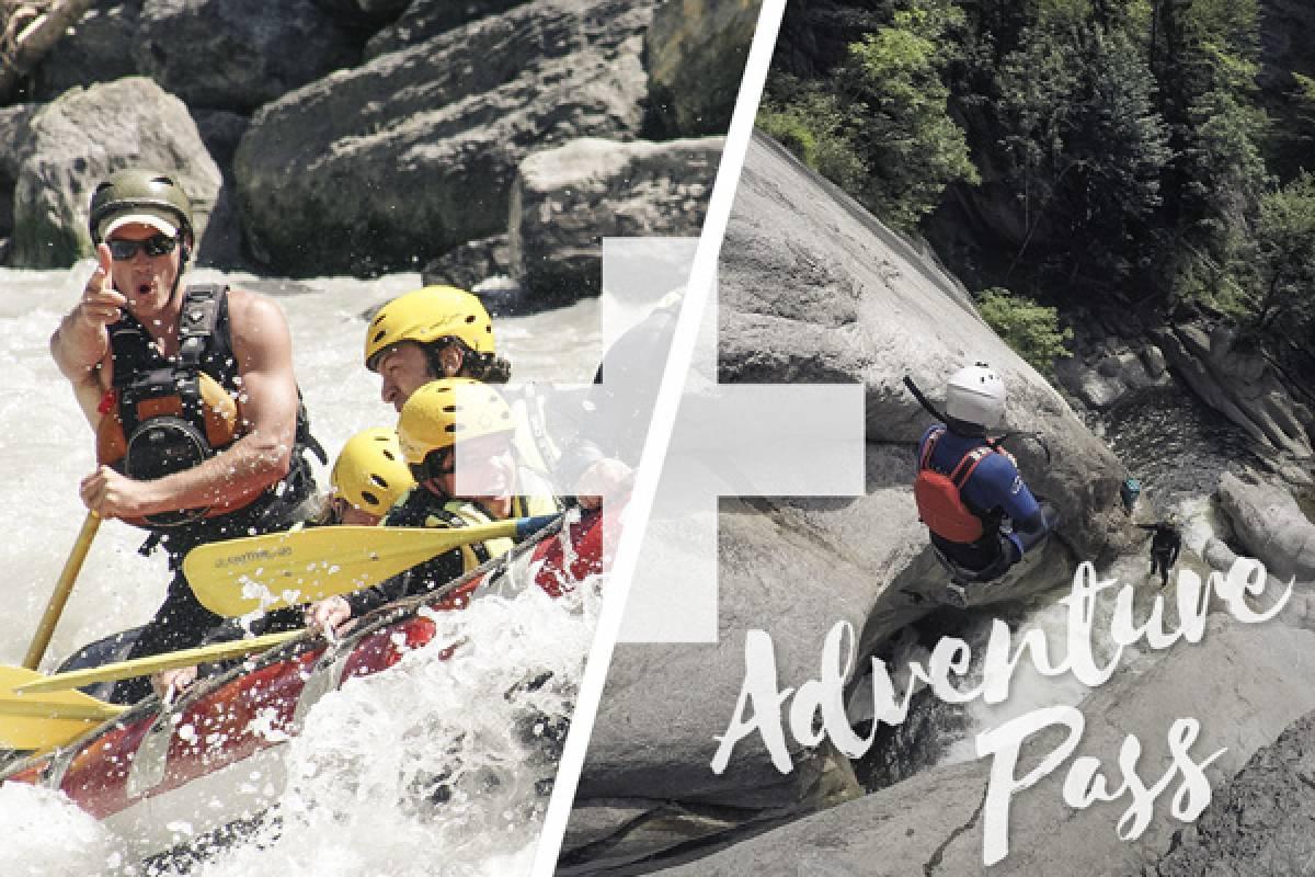 Outdoor Interlaken AG Adventure Pass: Rafting Lütschine + Canyoning Chli Schliere