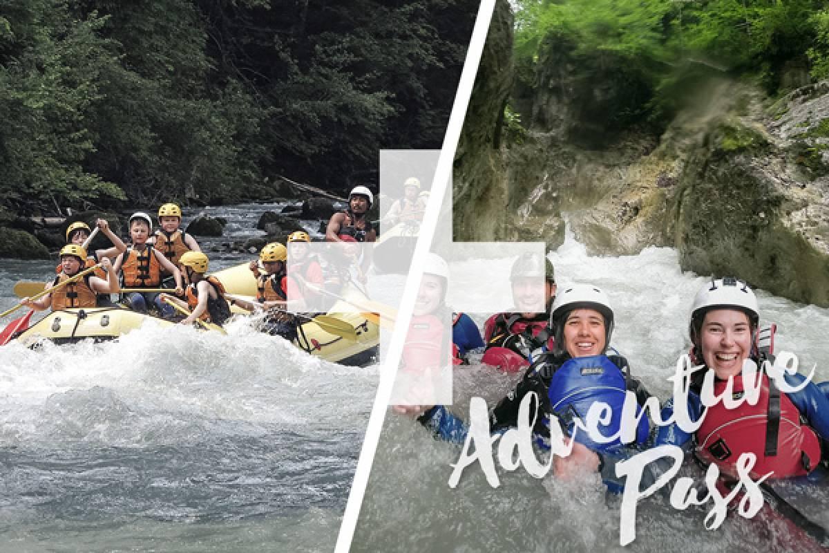 Outdoor Interlaken AG Adventure Pass: Rafting Simme + Canyoning Interlaken