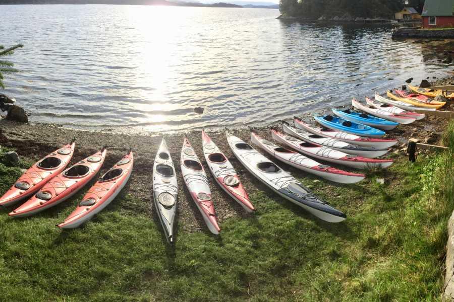 Gone Paddling Kayak rental Herdla