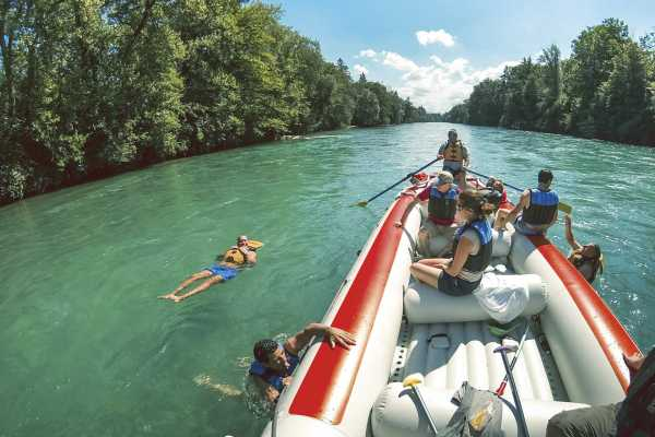 Aare Float Trip