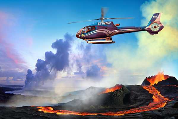 Dream Vacation Builders Blue Hawaiian Circle of Fire/ Water Falls Tour