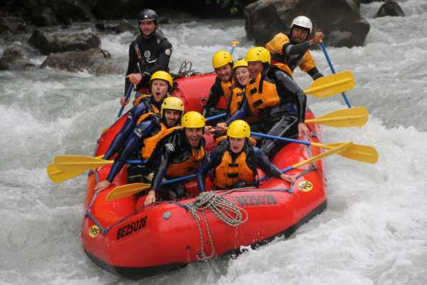 Outdoor Interlaken AG Rafting Lütschine Day Trip from Luzern