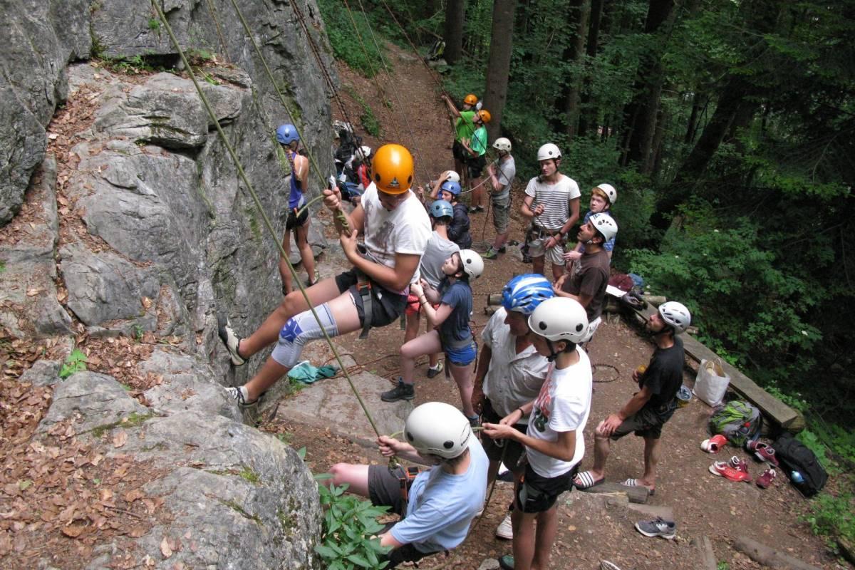 Swiss Alpine Guides Felsklettern - Interlaken 1/2 Tag