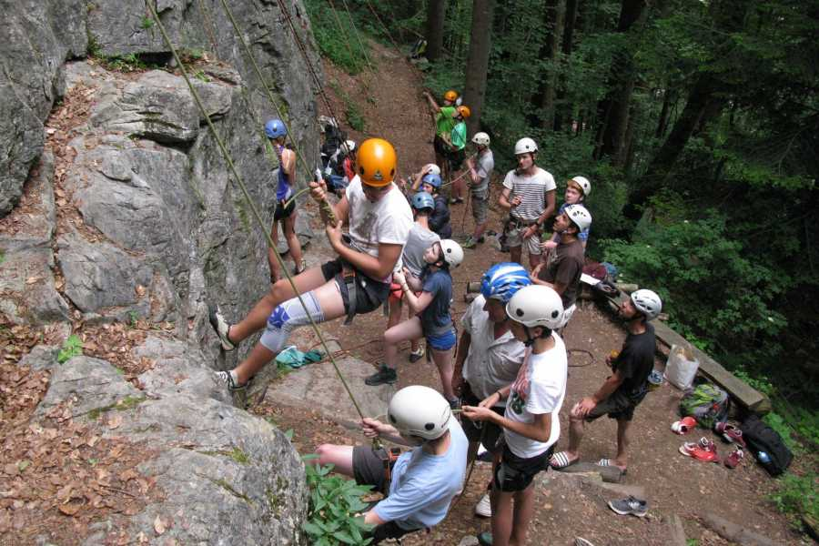 Swiss Alpine Guides Rock Climbing Interlaken -1/2 day