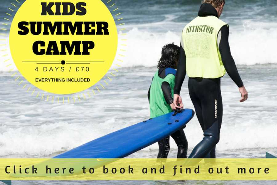 Alive Surf School Summer Kids Camp 2019