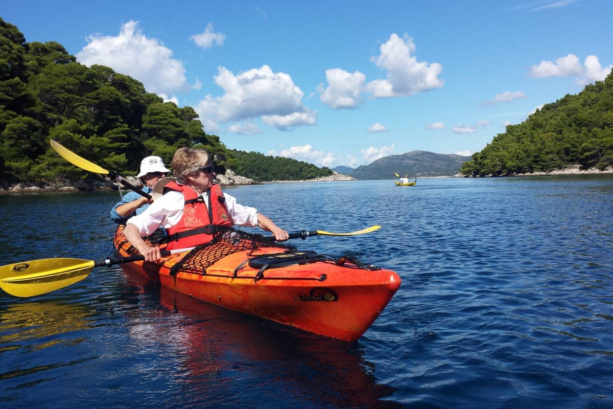 Nature Trips Dubrovnik Islands Sea Kayaking  8 days Adventure
