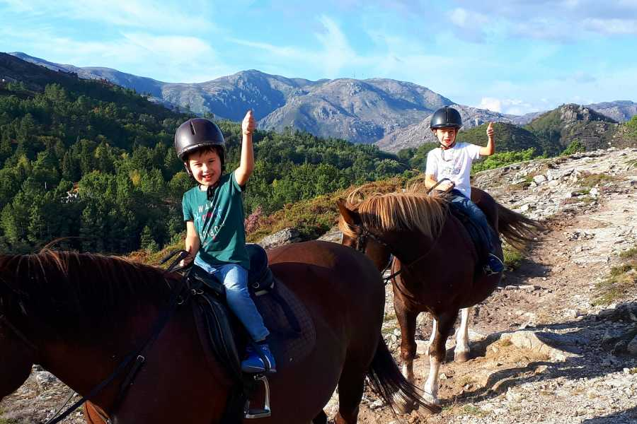 Gerês Holidays Baptism in Horse Riding