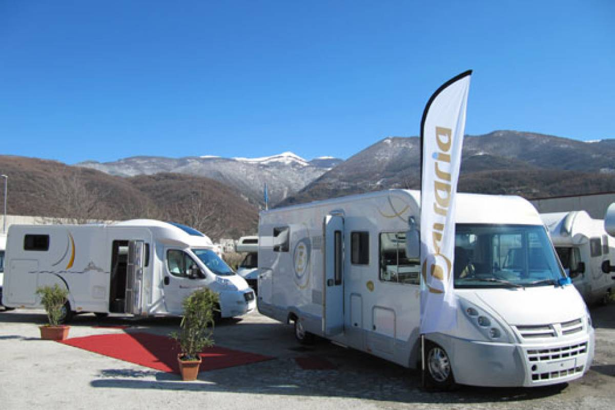 Camperbusiness Roma & Napoli 6 nights MOTORHOME