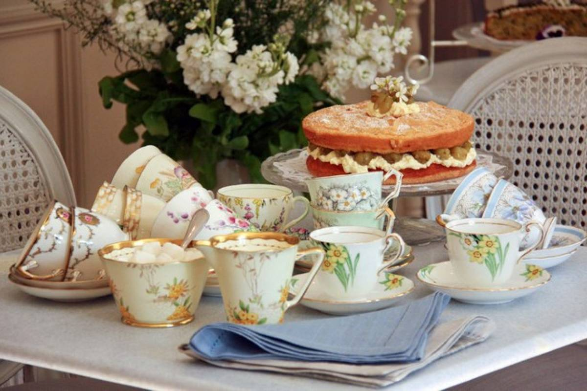Good Food Ireland Afternoon Tea & Cakes at Ballymaloe Cookery School