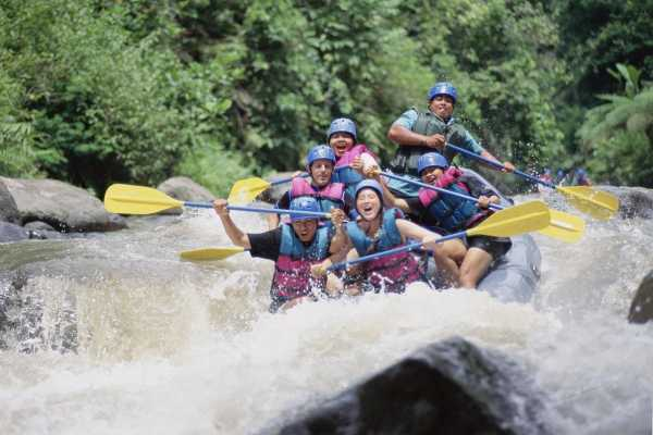 1Day Bali Rafting and Funs Games Package
