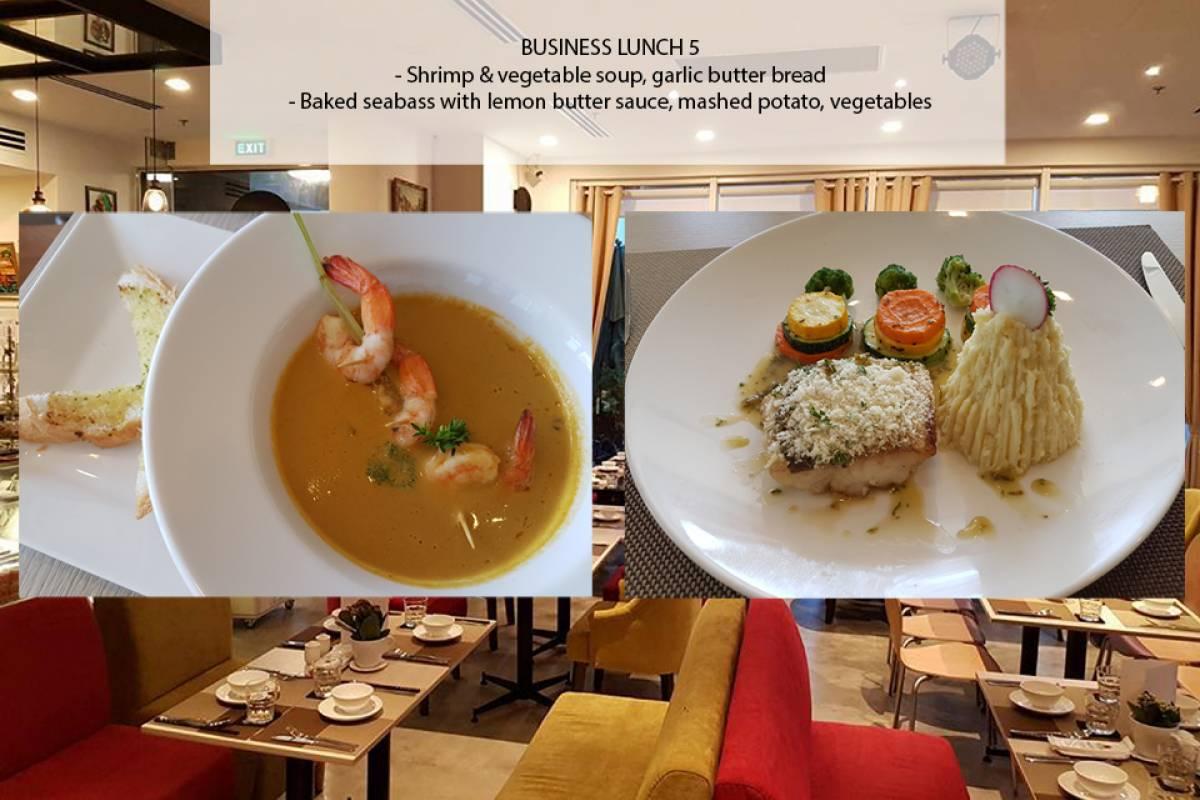 Viet Ventures Co., Ltd Set lunch at MH Bistro