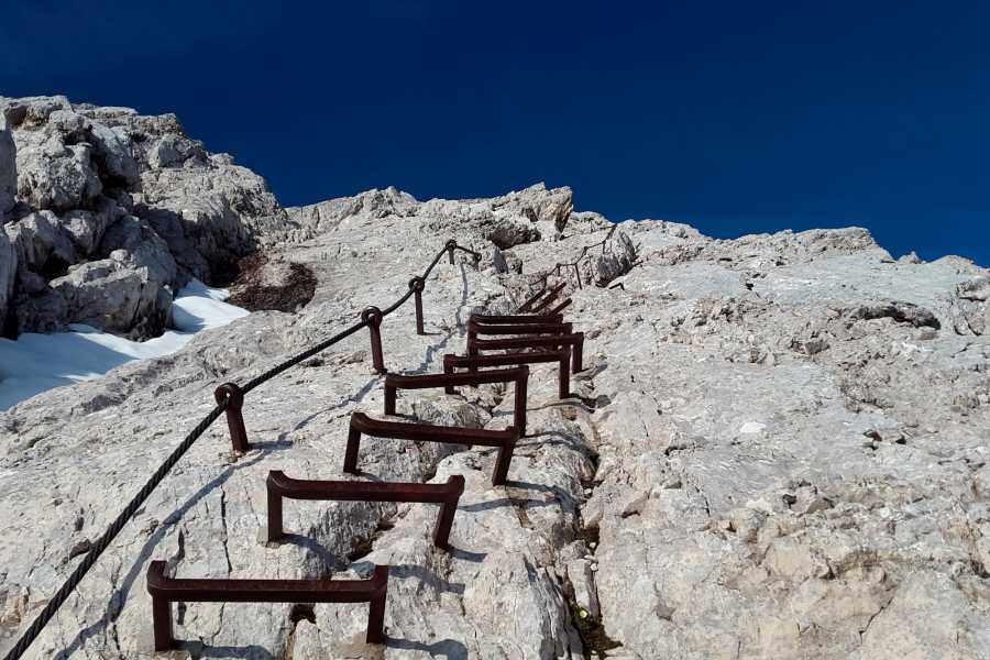 Grindelwaldsports Eiger Nordwand Klettersteig Rotstock
