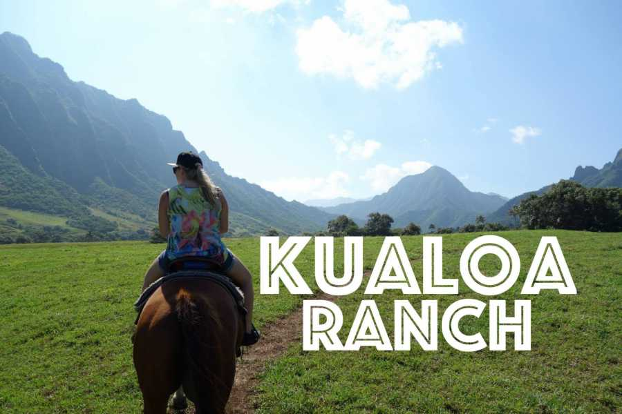Dream Vacation Builders Kualoa Ranch Horseback Riding Tours