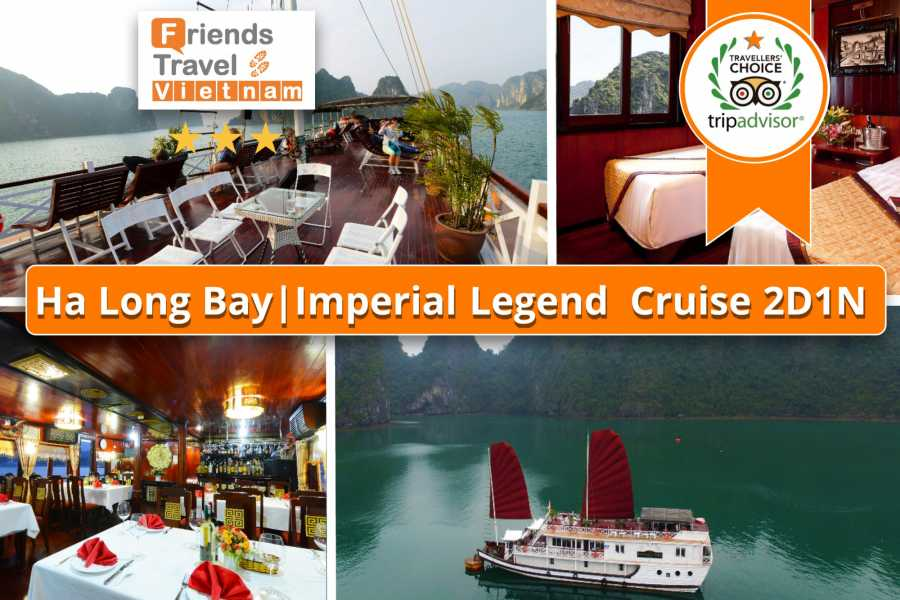 Friends Travel Vietnam Imperial Legend Cruise | 2D1N Halong Bay
