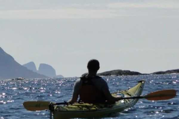 Seakayaking - One day Nordfjord Coastal Seakayaking