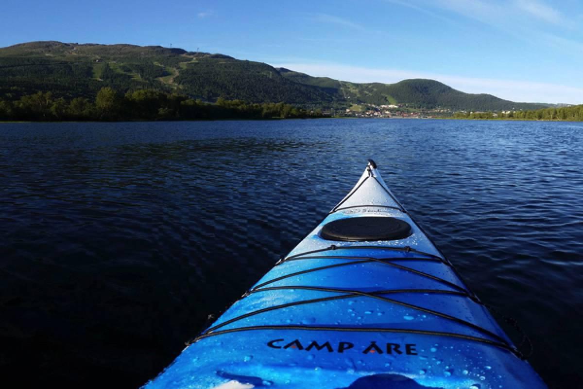 Camp Åre Paddle kayak