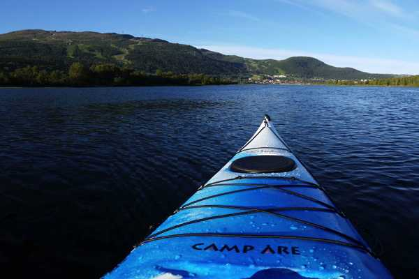 Puls Camp Åre Kajak paddling