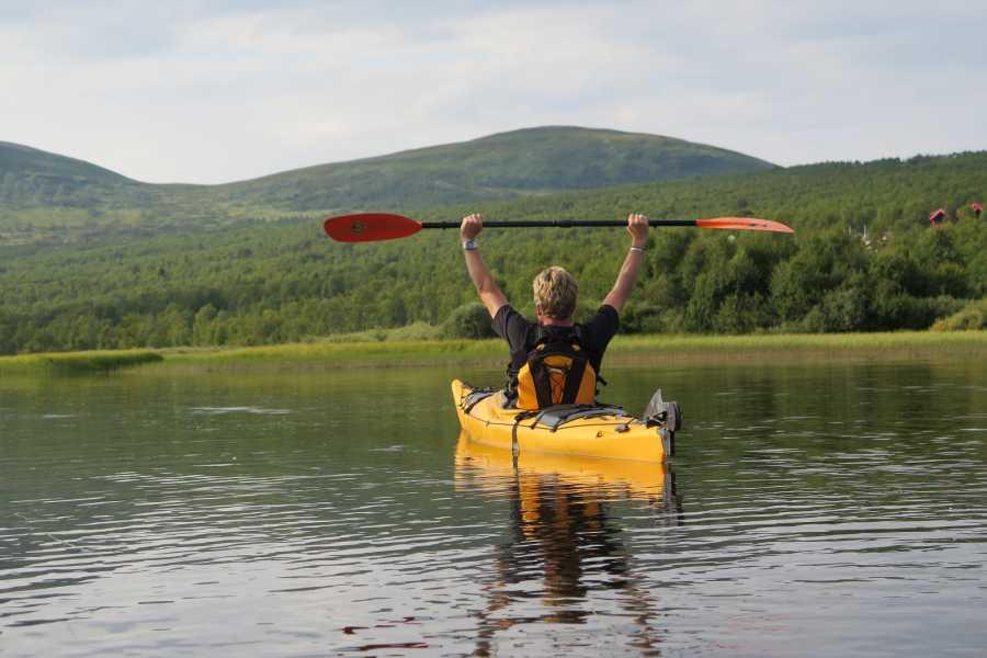 Puls Camp Åre Kajak paddling 3 tim Åresjön