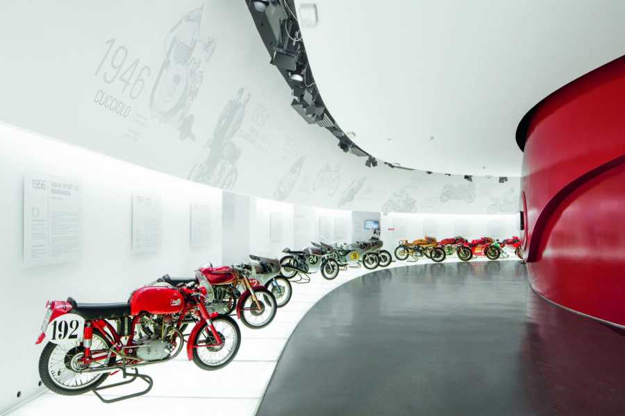 Bologna Welcome Ducati experience, Museum & Factory