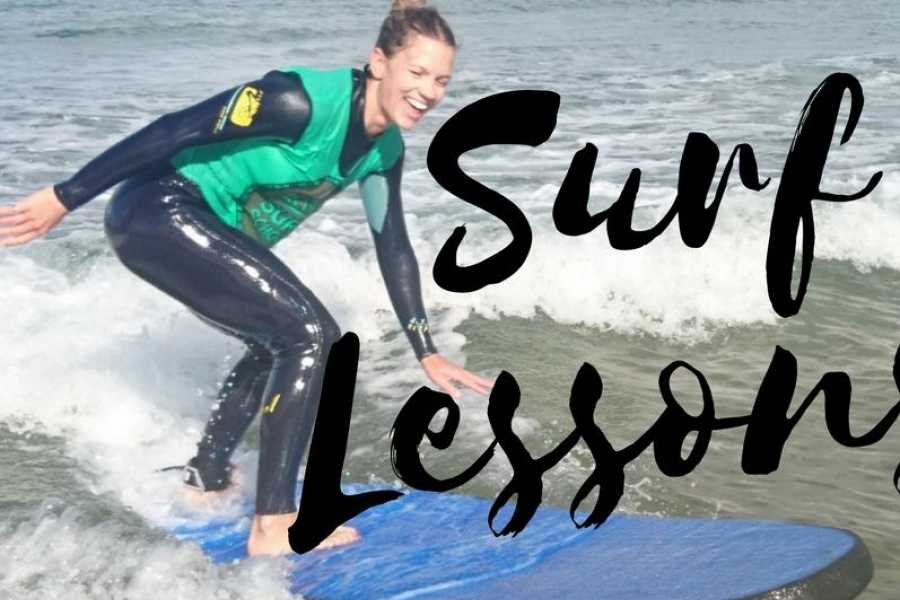 Alive Surf School Private 1 on 1 Surf Lesson