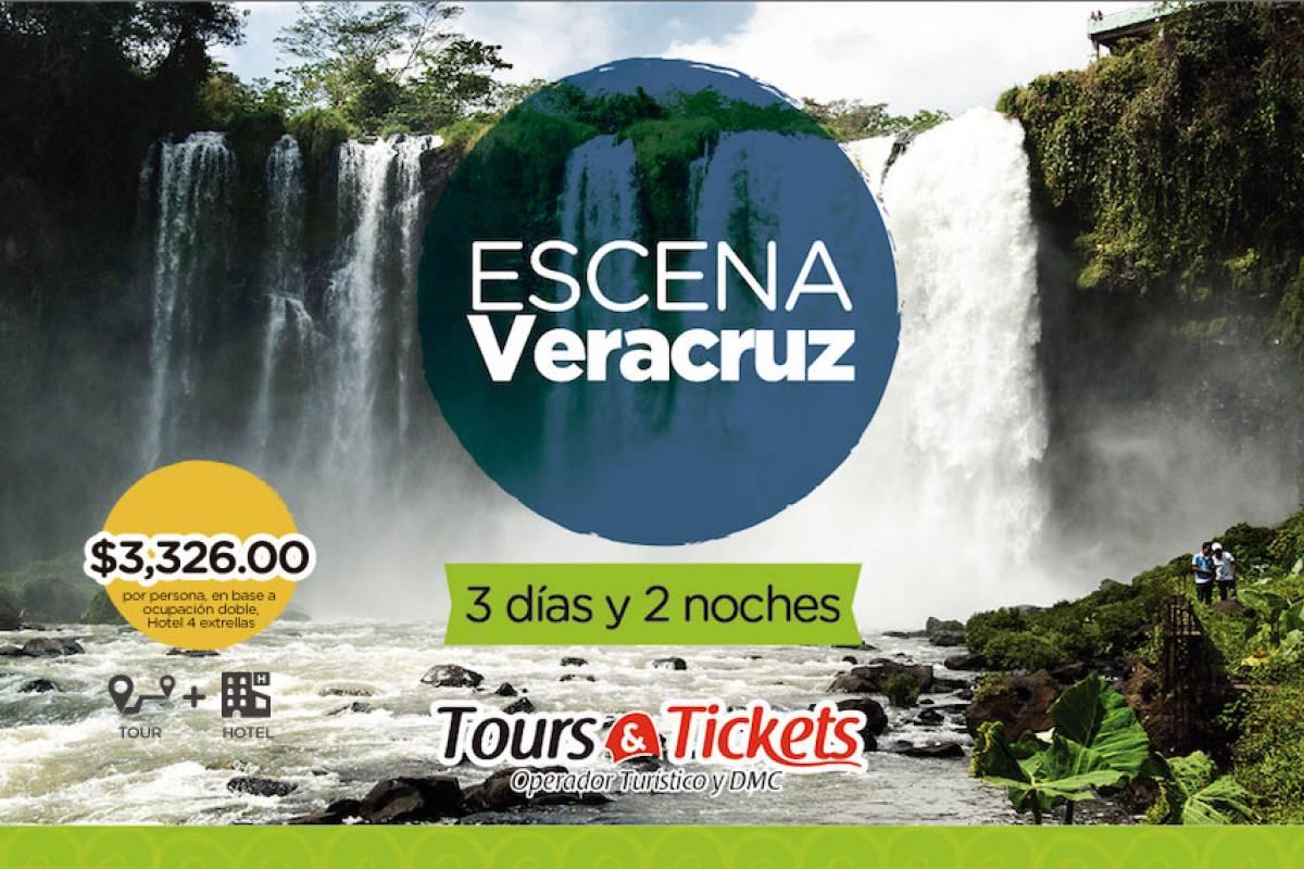 Tours & Tickets Operador Turístico ESCENA VERACRUZ - PAQUETE 3 DÍAS Y 2 NOCHES EN VERACRUZ
