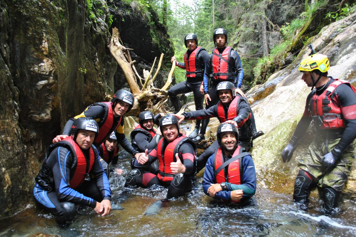 Wild-Trails Canyoning in Romania- PORUMBACU Canyon