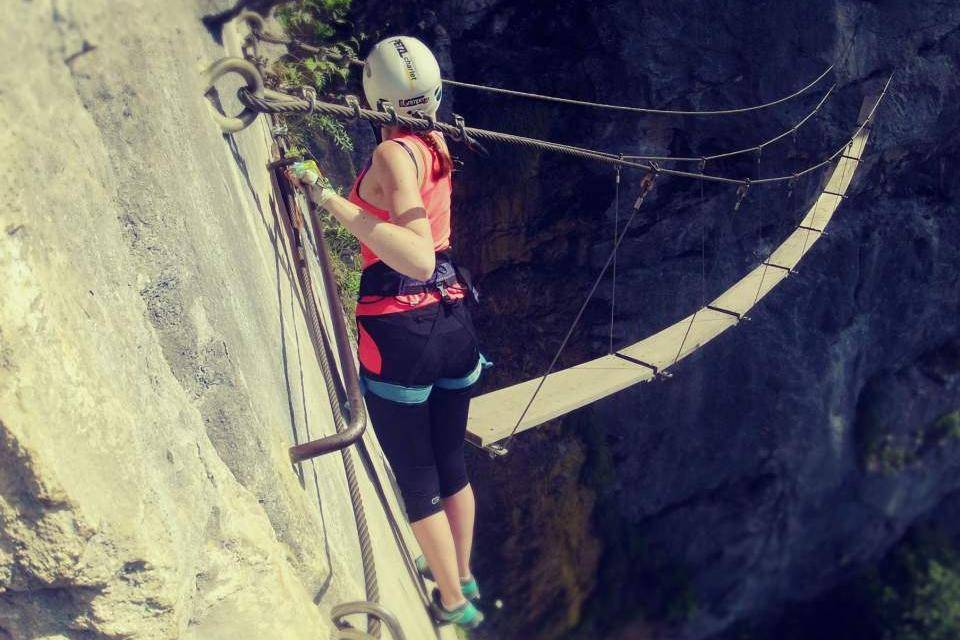 Klettersteig Chamonix : Klettersteig wazalp outdoor activities in french alps try
