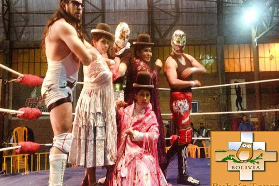 buhostours Cholitas Wrestling ou La lutte libre