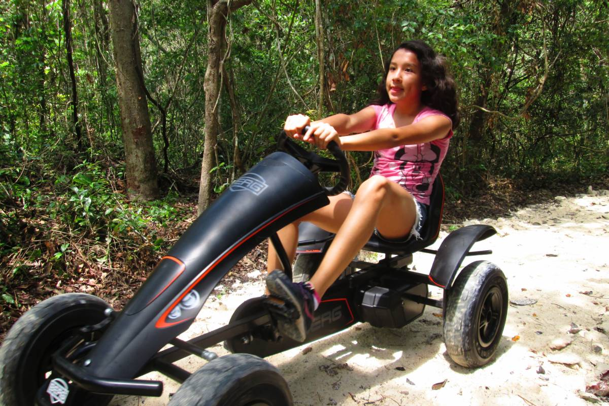 Cancun Vacation Experts FAMILY JUNGLE RIDE