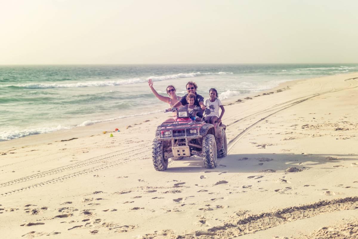Tour Guanacaste White Sand South Beach ATV Tour