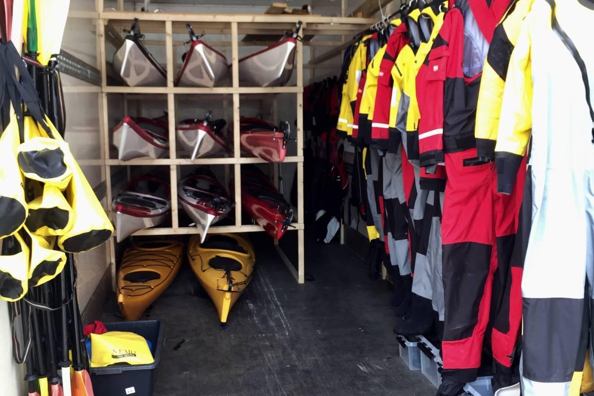 Gone Paddling Kayak rental Balestrand