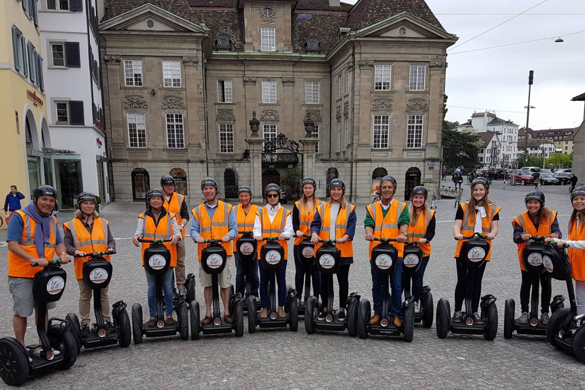 Segway City Tours Weekend in Zürich inkl. Segway Tour