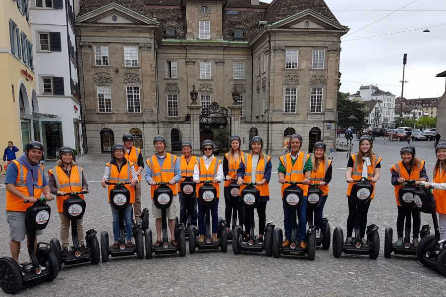 Segway City Tours Romantic Weekend in Zurich including Segway Tour for 2 persons