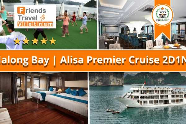 Friends Travel Vietnam Alisa Premier Cruise | 2D1N Halong Bay