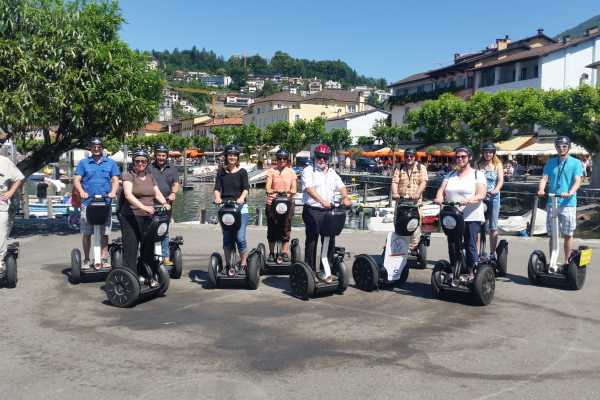Segway City Tours by HB-Adventure Romantic Weekend in Ascona/Losone including Segway Tour for 2 persons