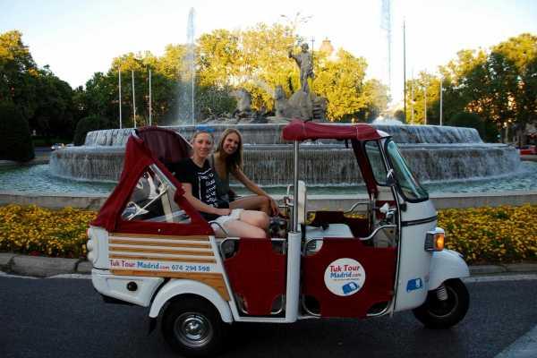 Urban Safari Tours Tuk Tuk : Descubre Madrid