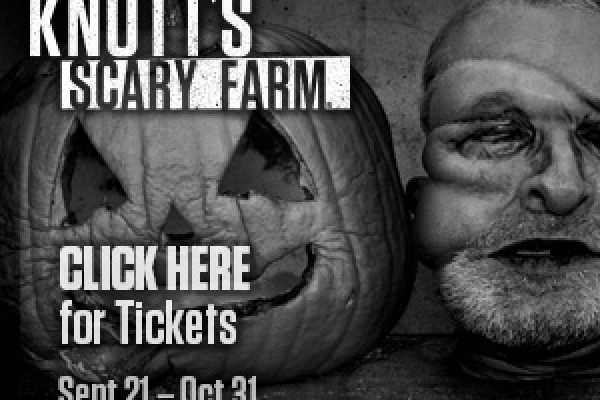 Dream Vacation Builders Knott's Scary Farm Admission Only