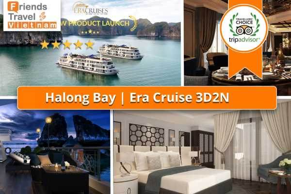 Friends Travel Vietnam Era Cruise | 3D2N Halong Bay