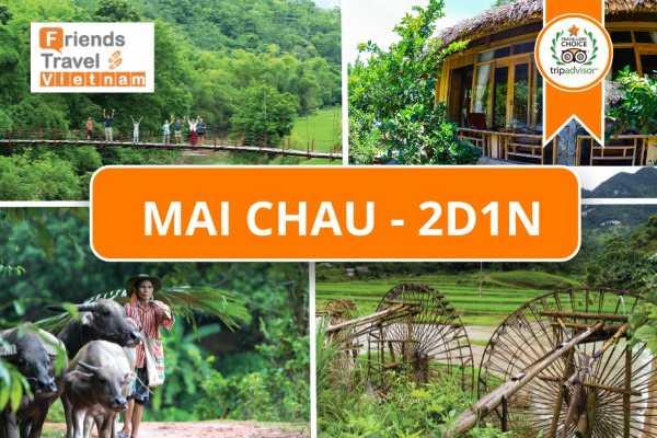 Friends Travel Vietnam Mai Chau tour 2D1N