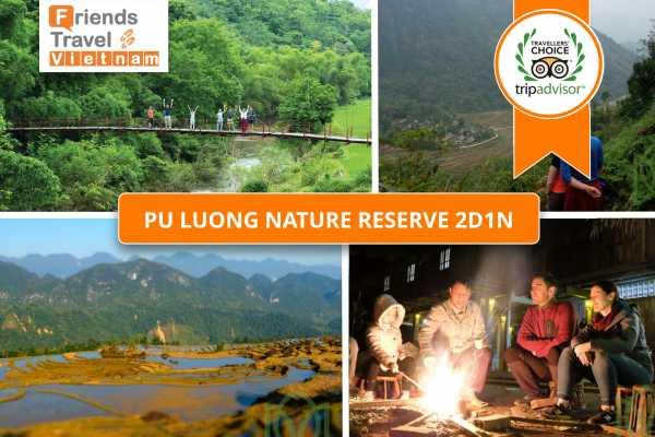 Friends Travel Vietnam Pu Luong Nature Reserve Tour 2D1N