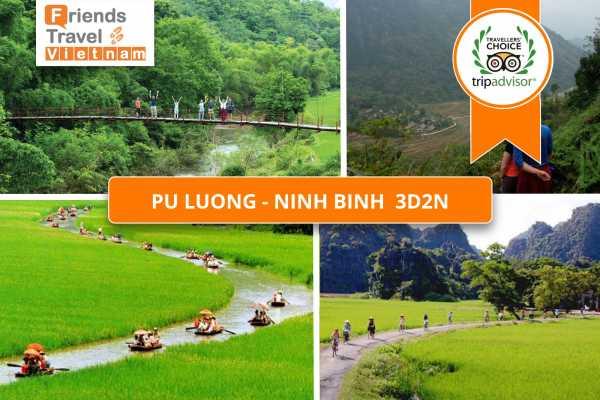 Friends Travel Vietnam Pu Luong - Ninh Binh 3D2N