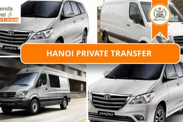 Friends Travel Vietnam Hanoi Private Transportation