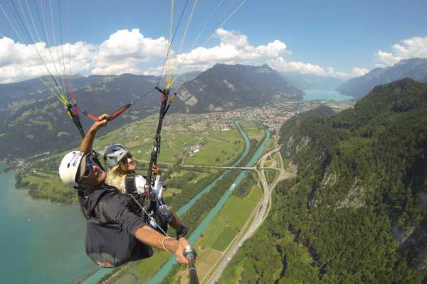"Paragliding Interlaken GmbH Paragliding ""Sunset"""