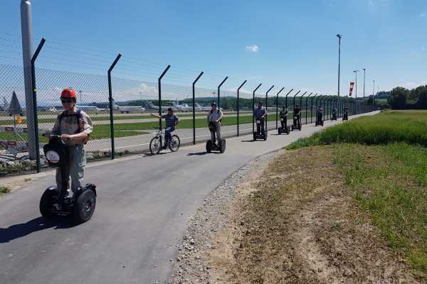 Segway City Tours by HB-Adventure Segway Zürich Airport Special