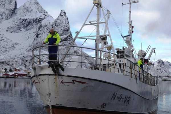 Aqua Lofoten Coast Adventure AS Fishing with Trio II