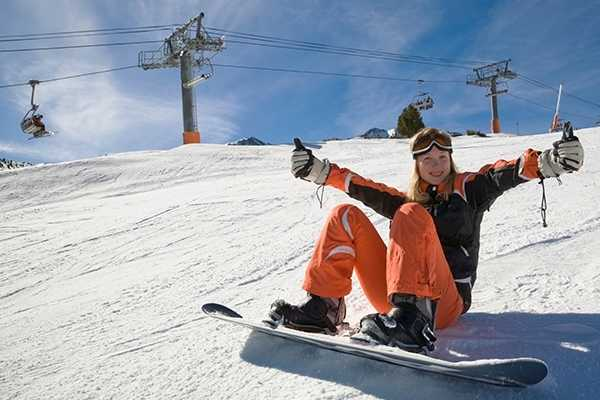 1 Day Beginner Snowboard Package