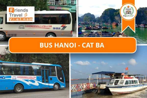 Friends Travel Vietnam Bus Tickets Hanoi - Cat Ba