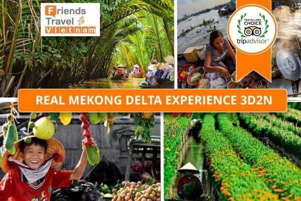 Friends Travel Vietnam Mekong Delta 3D2N Ben Tre - Can Tho - Phong Dien - Sa Dec (Private Tour)