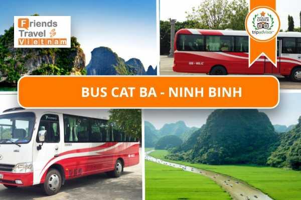 Friends Travel Vietnam Bus Ticket Cat Ba - Ninh Binh