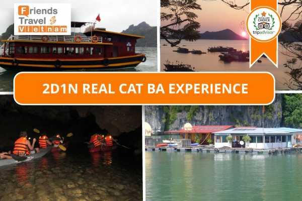 Friends Travel Vietnam Cat Ba 01 Day Tour - Boat Trip